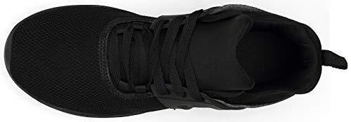 Uomo Respirabile Donna Nero Scarpe Sportive Scarpe Vedaxin Ginnastica Sneakers da Corsa Running S6UqWxp