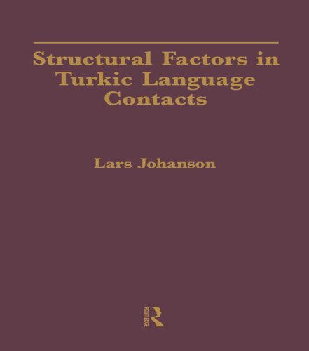 Download Structural Factors in Turkic Language Contacts Pdf
