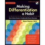 Making Differentiation Habit- How to Ensure Success in Academically Diverse (09) by EdD, Diane Heacox [Paperback (2009)]