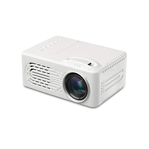 ZYG.GG 2400 Lumens LCD Video Projector,Mini Projector,Full HD 1080P, 1000:1 Contrast Ratio & Upgraded Lamp Life, Support HDMI VGA AV USB TF,Compatible with Fire TV Stick, Xbox etc,White from ZYG.GG