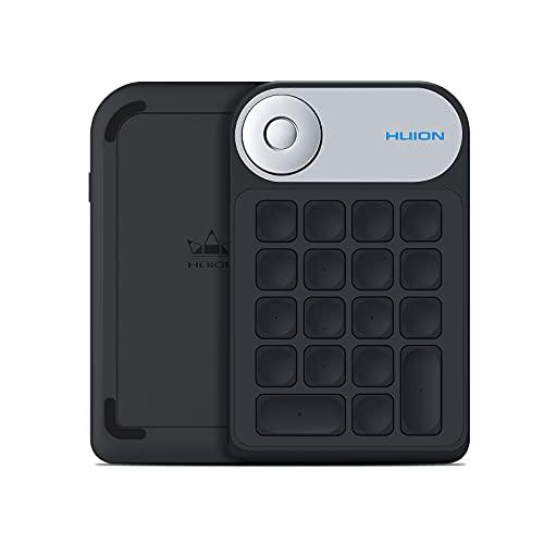 teclado para tabletas graficas HUION Mini KeyDial KD100