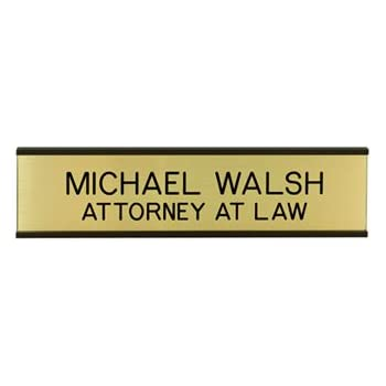 Amazon Com Personalized Nameplate With Wall Holder