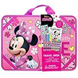Innovative Designs 14 x 10 Inch Disney Minnie Mouse and Daisy Duck Travel Desk - Includes Crayons, Markers and Sticker Sheets