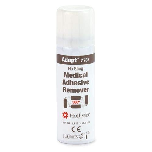 Hollister Adapt Medical Adhesive Remover, No Sting, 360 Degree Spray 1.7 -