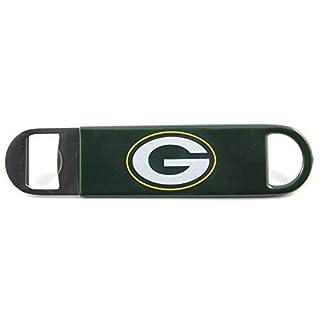 Boelter Brands NFL Bay Packers Vinyl Covered Long Neck Bottle Opener, Green,7-inches
