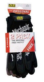 The Original All Purpose Glove, Black, Medium, 2Pk
