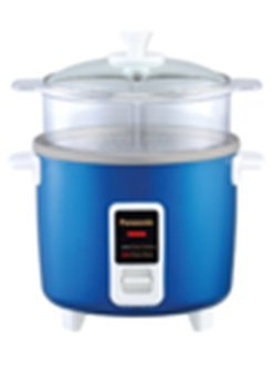 PANASONIC SR-W10FGE Automatic Rice Cooker/ Steamer - Color BLUE
