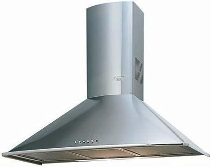 Teka DM 70 - Campana (Canalizado/Recirculación, 780 m³/h, Montado en pared, Acero inoxidable, Botones, 80W): Amazon.es: Grandes electrodomésticos