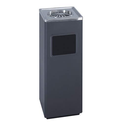 OKSLO Company 3-gal ash 'n trash square sandless urn
