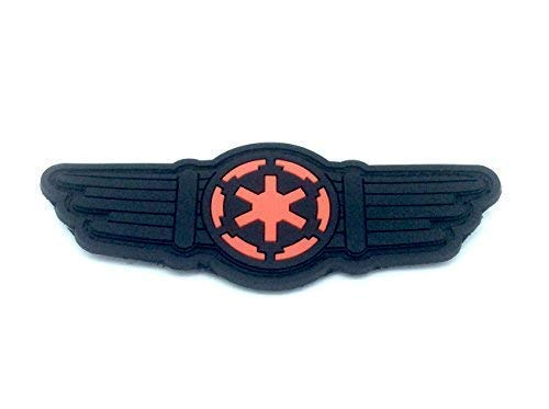 Star Wars Tie Pilot Coulisses Airsoft PVC Patch