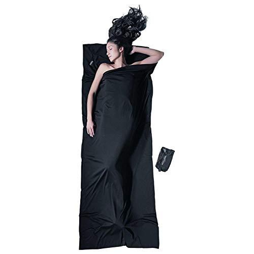 (Cocoon Merino Wool Travelsheet - Black)