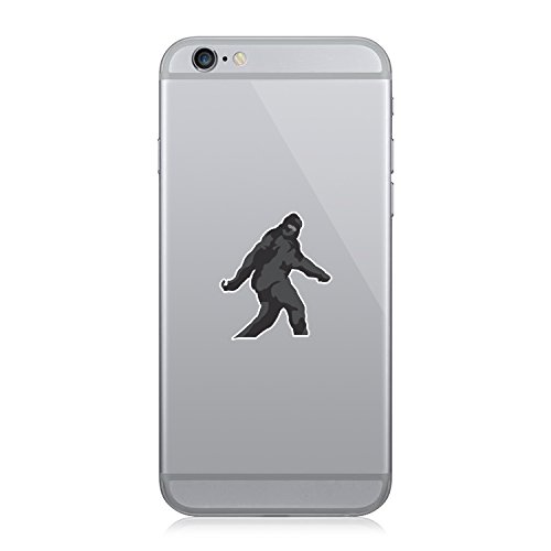 Sasquatch Bigfoot - Cell Phone Sticker - Decal - Die Cut (Bigfoot Mobile compare prices)