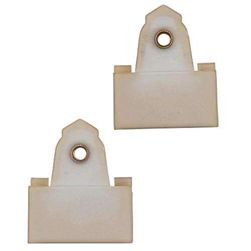 Set of Two Window Regulator Sash Connector Channel Guide Clips Replacement for Pontiac Oldsmobile 22689012