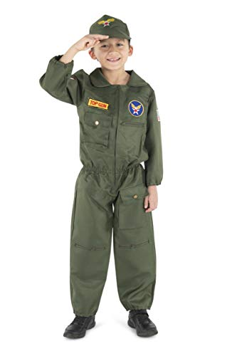 Dress Up America Air Force Pilot- Medium 8-10 ()