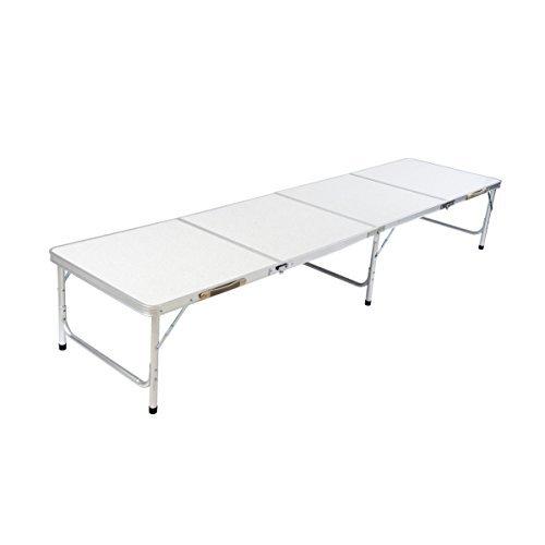 1 mesa plegable de aluminio DXP camping mesa plegable maleta de ...