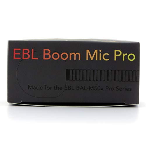 Boom Mic Only East Brooklyn Labs BAL-Pro50x Bluetooth Adapter for Audio-Technica ATH M50x Headphones and Other Mic Compatible Headsets