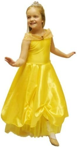 OLD World Book Day-Fairytale-Beauty & The Beast-Cinderella PRINCESS BELLE Costume - All Ages (AGE