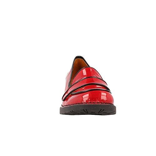 0076c Rosso Art Scarpes bristol Charol Bermellon qxawXOa54