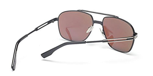 retro style Lennon du polarisées vintage métallique rond Film cercle inspirées de soleil Bleu lunettes en CxwqYF1x
