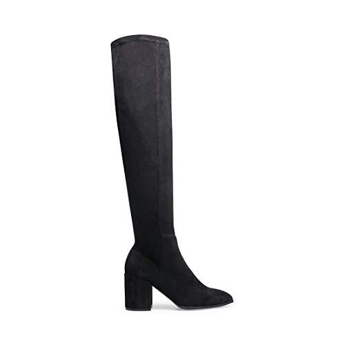 Steve Madden Women's Jacey Fashion Boot, Black, 7.5 M US