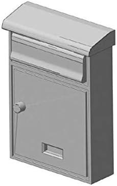 modellbahn-exklusiv Briefkasten Hausbriefkasten 1:45 modern mit Dach 2 St/ück Spur 0