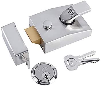 Yale Locks P89 Visi Pack - Cerrojo con pestillo Muerto (6 cm), Color Cromado [Importado de Reino Unido]: Amazon.es: Bricolaje y herramientas