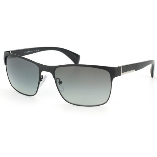 Prada Pr 51os Matte Black/gray Gradient - Matte Black Prada Sunglasses