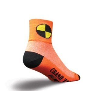 SockGuy Classic 3in Dummy Cycling/Running Socks (Dummy - S/M)