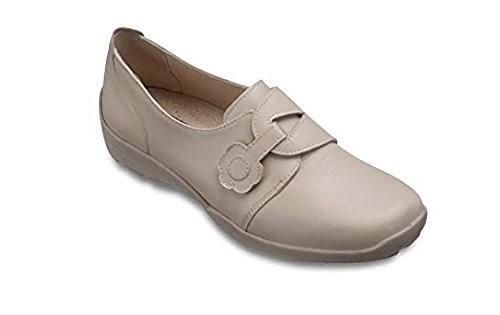 Db Shoes Ladies Extra Wide Bee 2E Beige NfjOn