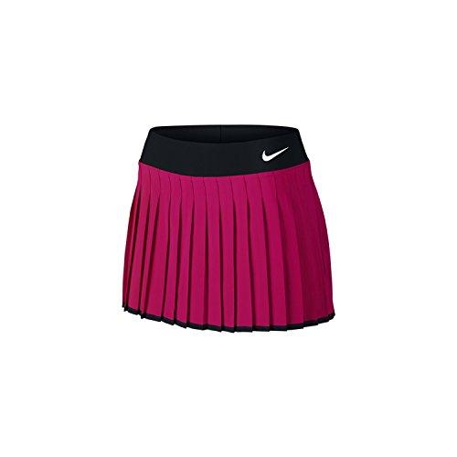 Court De Nike blanc noir Tennis Jupe Victory Vif Rose Femme Multicolore ZUw1qdw