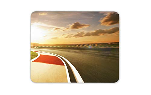 Awesome Race Track Mouse Mat Pad - Car Bike Racing Dad Mouse Pad Mousepad Gift Computer -8718