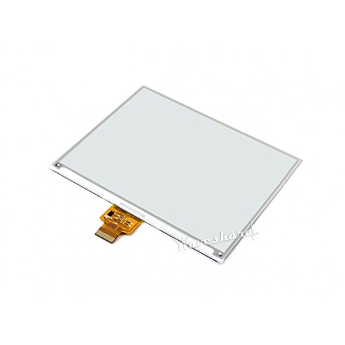 5.83inch E-Paper Display Hat Module 600x448 E-Ink Electronic Paper Screen Two-Color Black/White Compatible with Raspberry Pi Zero/Zero W/Zero WH/2B/3B/3B+ by waveshare (Image #2)