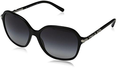 Burberry BE4228 30018G Black / Silver BE4228 Butterfly Sunglasses Lens - Lenses Burberry