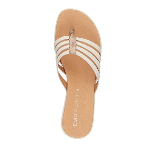 Leather Gold EMU Australia Cow Womens Palmgrove Sandals nwYTfXWYq