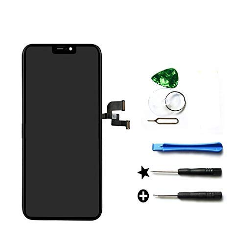 - for iPhone X 5.8 inch Screen Replacement Retina LCD Display Touch Screen Digitizer Glass Frame Assembly Set with Tools Repair kit