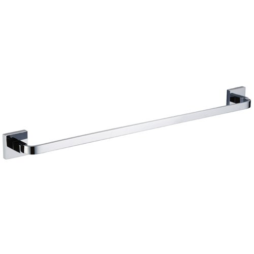 LightInTheBox Bathroom Accessories Solid Brass Towel Bar Chrome Robe Hooks Lavatory Towel Furniture Towel Stand Holder Towel Racks Bar Kitchen Towel Stands Wall Mount