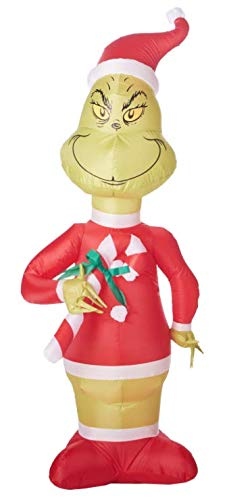 Wholesale Christmas Decorations (The Grinch Airblown Inflatable Christmas Holiday Yard Decoration)