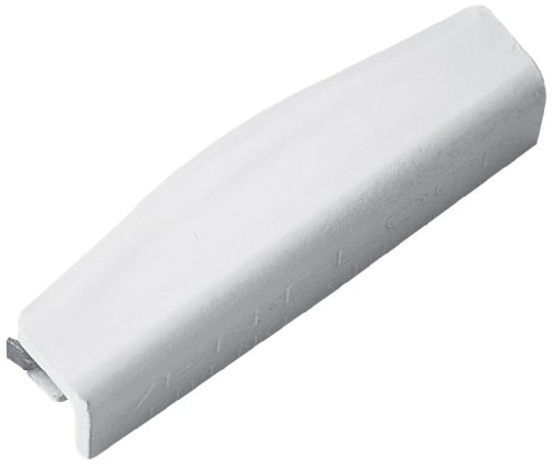 Prime-Line Products U 9830 Snap-On Vent Lock, 1-3/4 in., Steel, Painted White, Qty. 2
