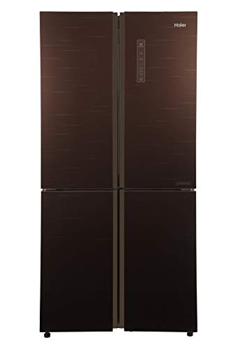 Haier 531 L Inverter Frost-Free Side-by-Side Refrigerator (HRB-550CG, Chocolate)