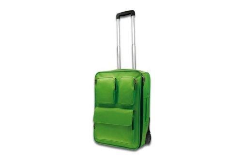 Reise Trolley hellgruen Vollgummirollen - Sonstige Produkte