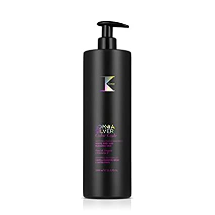 K-Time Somnia Silver Color Code Shampoo Antigiallo capelli bianchi grigi e  decolorati 1000 ml  Amazon.it  Bellezza 230a2983aa12