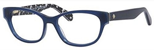 Eyeglasses Kate Spade Josee 0S4T Blue Black Transparent