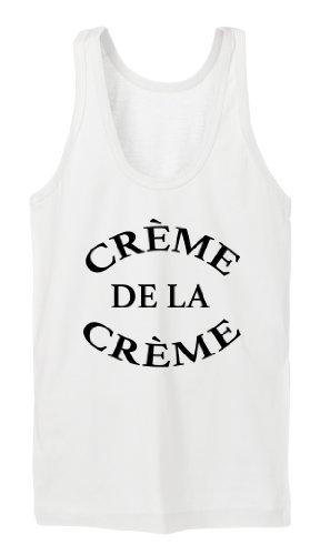 Creme De La Creme Tanktop Girls Blanc
