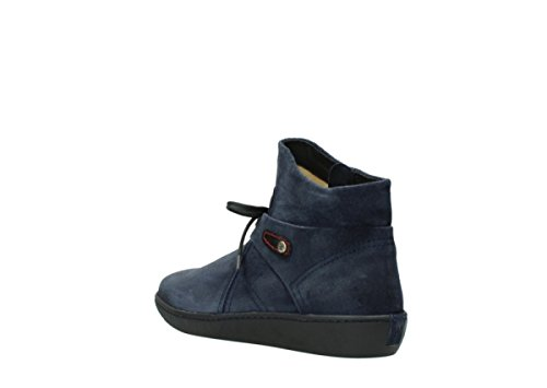 Pharos Comfort Blue 40801 Suede Bottines Wolky ERFwqZYq