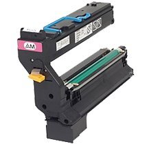 007 Magenta Toner Cartridge (Refurbished KONICA MINOLTA 1710602-007 Laser Toner Cartridge Magenta High Yield)