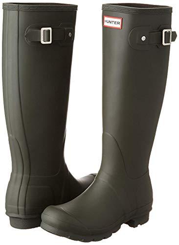 Hunter Women's Original Tall Rain Boot (6 M US, Dark.Olive)