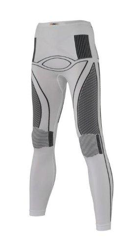 Weißs L-XL X-Bionic Erwachsene Kleidungsfunktion Lady aus Akkumulator UW Lange Hosen