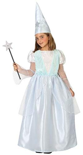 Girls Fairy Godmother Good Witch Princess Book Day Halloween Fancy Dress Costume Outfit (7-9 Years)