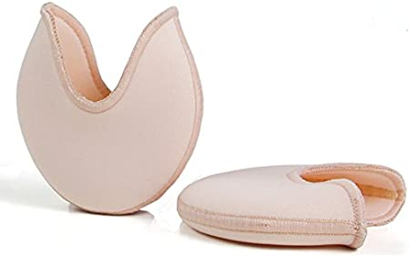 DANCEYOU Ballet Pointe Pads Toe Pads Protector Ouch Pouch Toe Pad,Casual Use,Ultra Soft Ballet Silicone Gel Toe Caps for Women and Girls