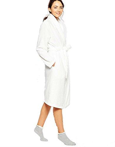 Charter Club Super Soft Short Wrap Robe (X-Large, Bright White)